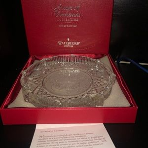 Waterford Crystal Christmas Plate